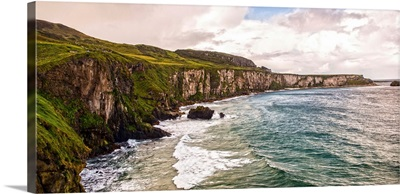 Clouds Over Cliffs of Moher, Ireland - Panoramic
