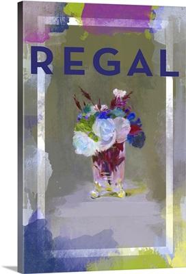 Color Splash Floral - Regal