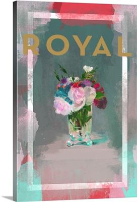 Color Splash Floral - Royal