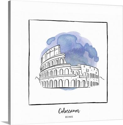 Colosseum - Brushstroke Buildings