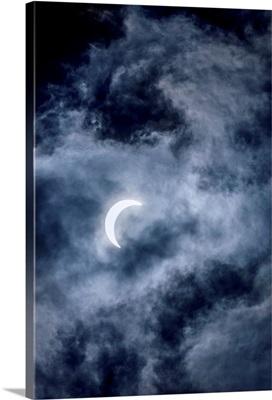 Crescent Moon, Banff National Park, Alberta, Canada