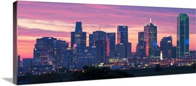 Dallas at twilight