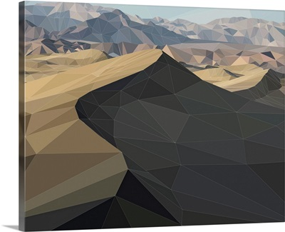 Death Valley - Low-Poly Art