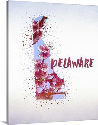 Delaware State Flower (Peach Blossom)