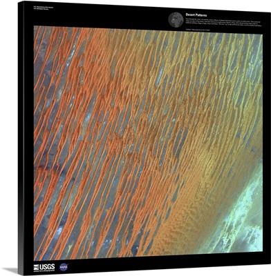 Desert Patterns - USGS Earth as Art