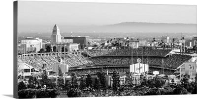 Dodger Stadium, Los Angeles, California, at Night - Panoramic