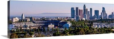 Downtown Los Angeles, California, Dodger Stadium - Panoramic