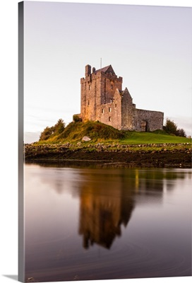 Dunguaire Castle, Galway Bay, County Galway, Ireland - Vertical