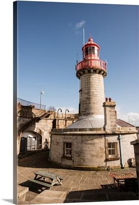 East Pier Lighthouse, Dun Laoghaire Harbour, Dublin, Ireland