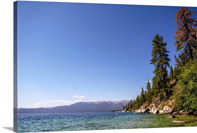 East Side Of Lake Tahoe, California And Nevada