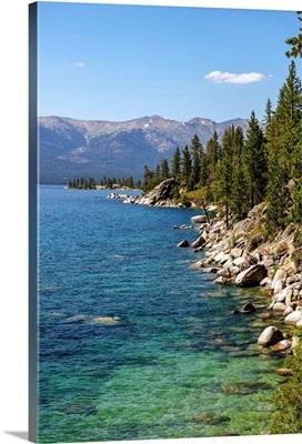 Eastern Shore Of Lake Tahoe, California And Nevada