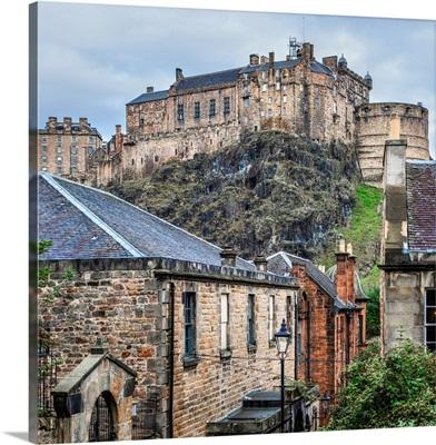 Edinburgh Castle, Scotland - Square