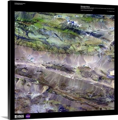 Edrengiyn Nuruu - USGS Earth as Art