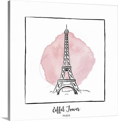 Eiffel Tower - Brushstroke Buildings