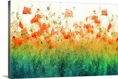 Emerald Poppies