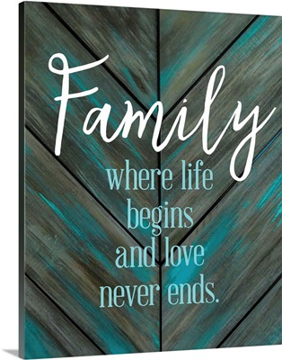 Family Quotes - Family Life Begins