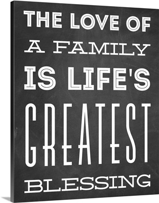 Family Quotes - Love Of A Family
