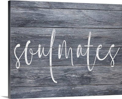 Family Quotes - Soulmates Gray