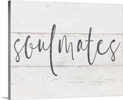 Family Quotes - Soulmates White