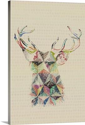 Geometric Shape Animals - Deer