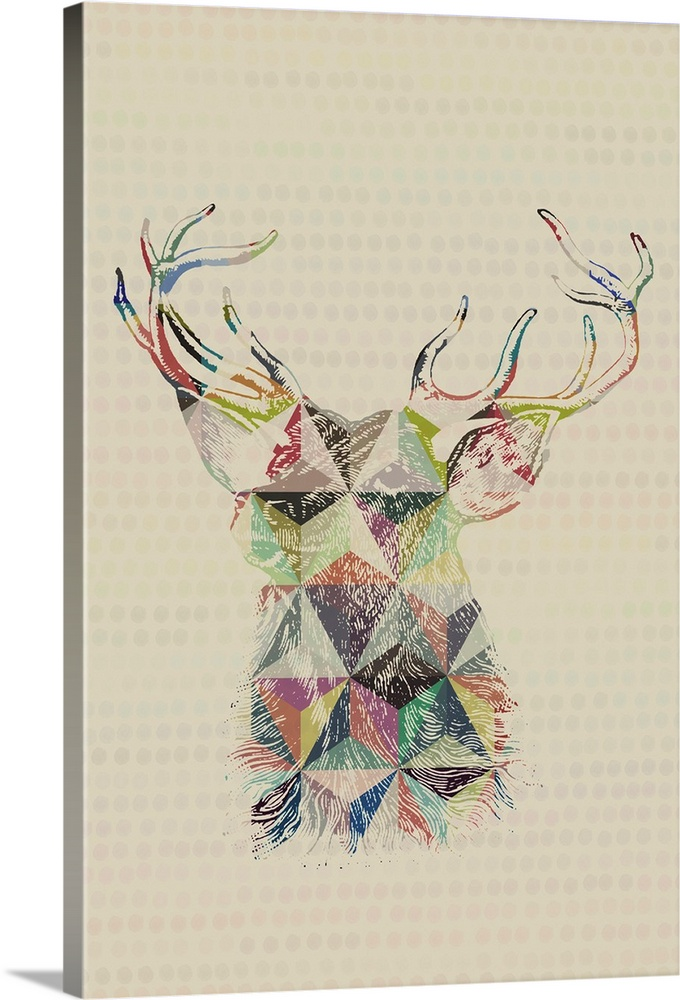 Geometric Shape Animals   Deer