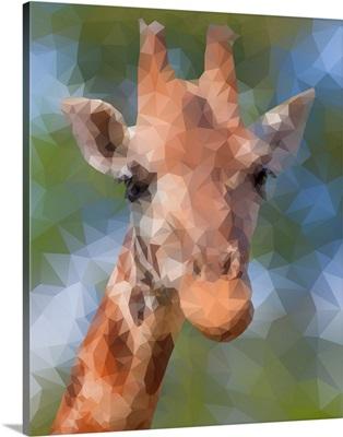 Giraffe - Low Poly