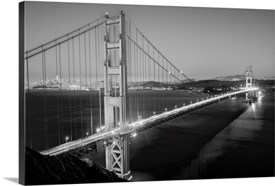 Golden Gate Bridge at Twilight, San Francisco