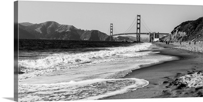Golden Gate From the Coast