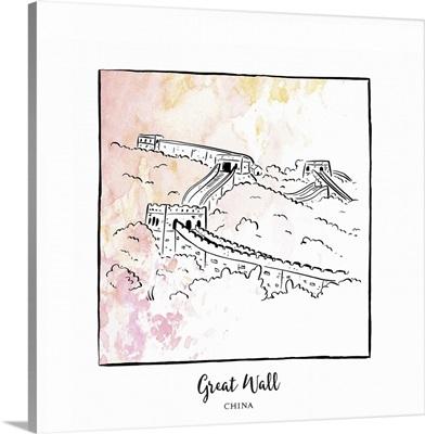 Great Wall - Brushstroke Buildings