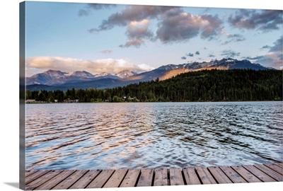 Green Lake After Sunset, Whistler, British Columbia, Canada