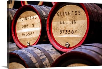 Guinness Barrels, Guinness Storehouse, Dublin, Ireland
