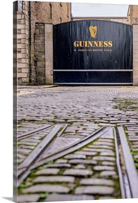 Guinness Storehouse Gate, Dublin, Ireland - Vertical