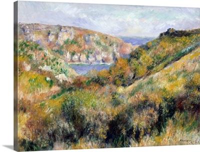 Hills around the Bay of Moulin Huet, Guernsey