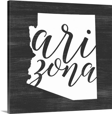 Home State Typography - Arizona