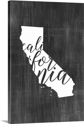 Home State Typography - California