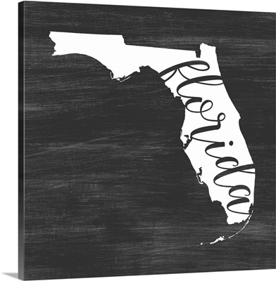 Home State Typography - Florida