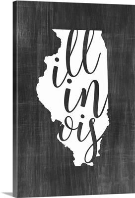 Home State Typography - Illinois