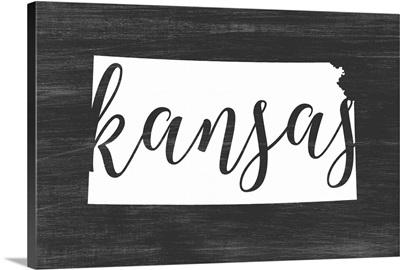 Home State Typography - Kansas