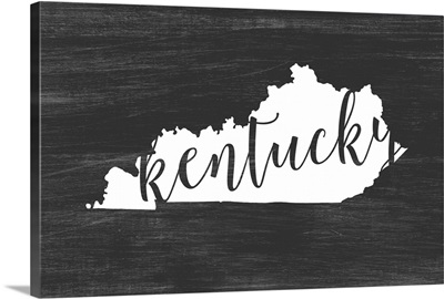 Home State Typography - Kentucky