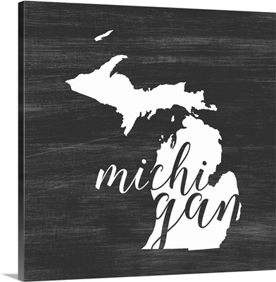 Home State Typography - Michigan