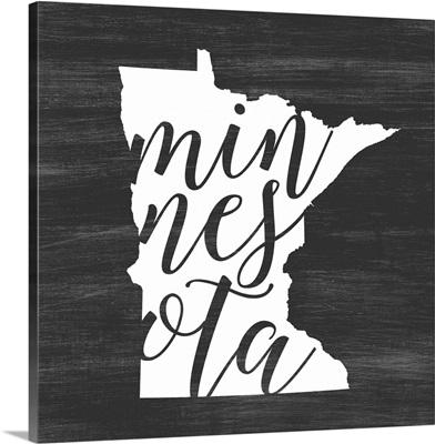 Home State Typography - Minnesota