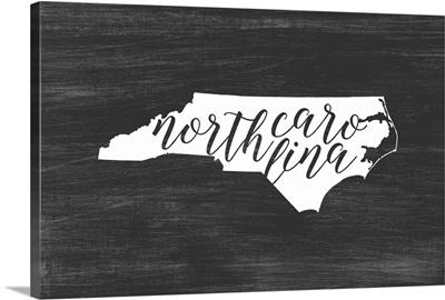Home State Typography - North Carolina