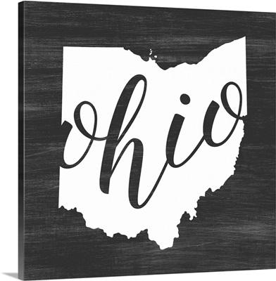 Home State Typography - Ohio