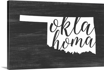 Home State Typography - Oklahoma