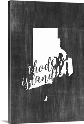 Home State Typography - Rhode Island