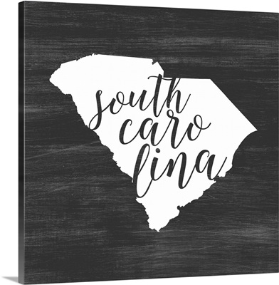 Home State Typography - South Carolina