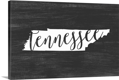 Home State Typography - Tennessee