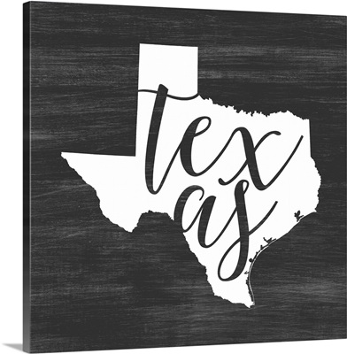 Home State Typography - Texas