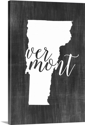 Home State Typography - Vermont
