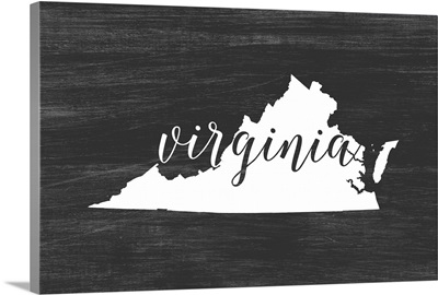 Home State Typography - Virginia
